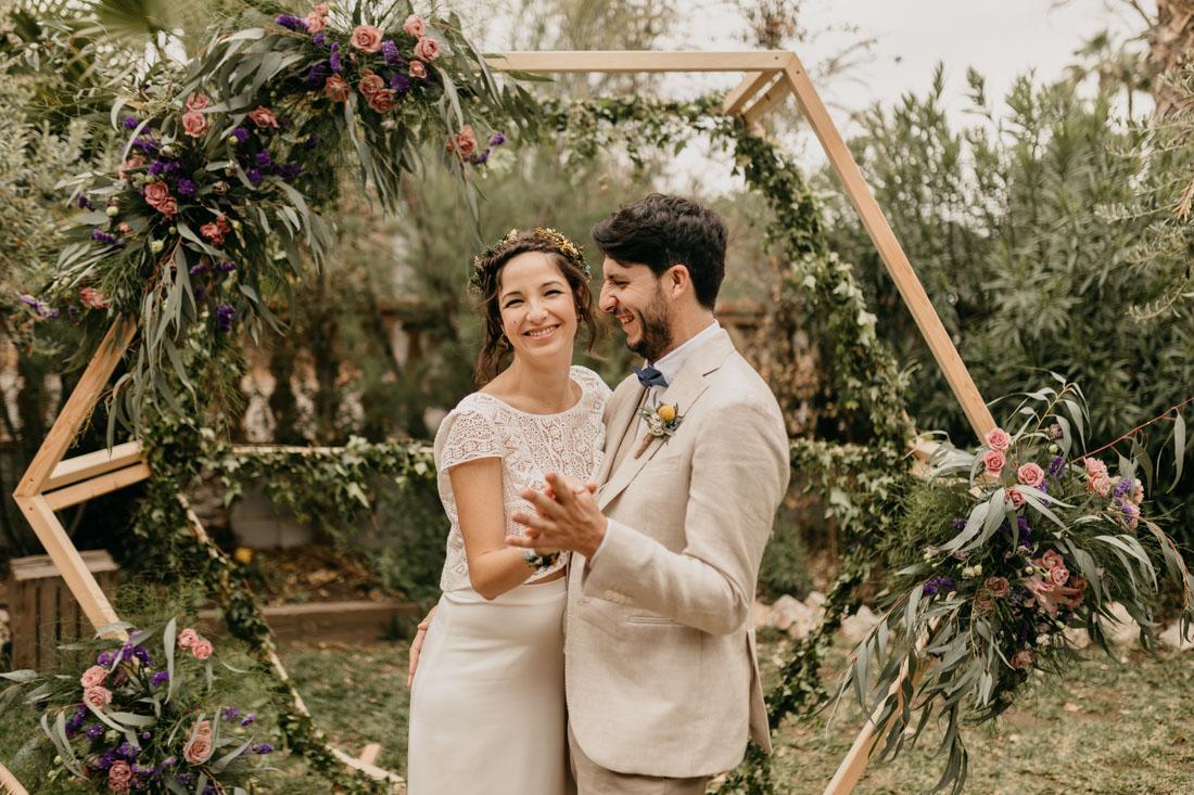 La primavera boda de Alba y Andreu